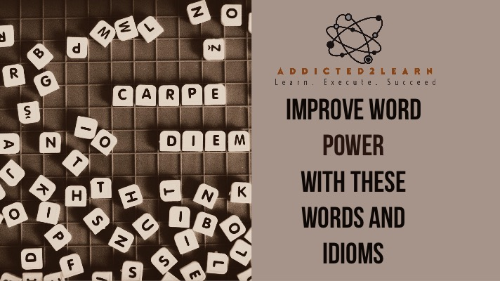 Words and Idioms
