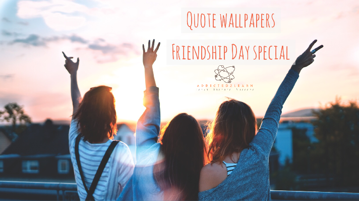 friendship day quotes and wallpapers