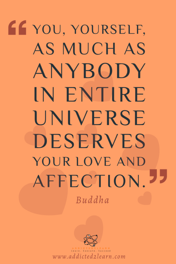 Self Love Quote by Buddha