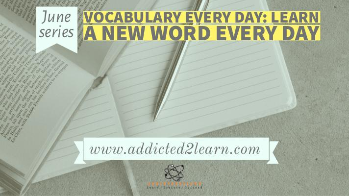 Vocabulary Every day
