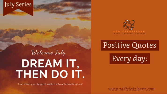 Positive Quotes every day