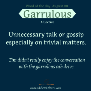 Unnecessary talk or gossip especially on trivial matters.