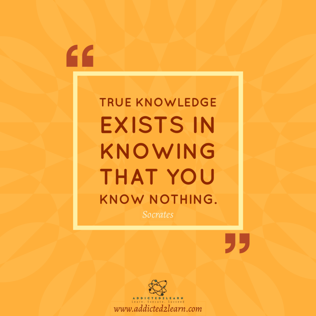 Quote of the day by  Socrates.