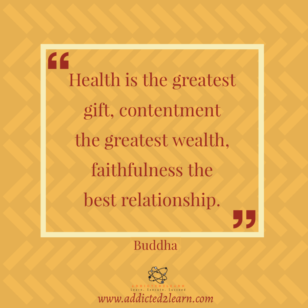 Quote of the day by Buddha.