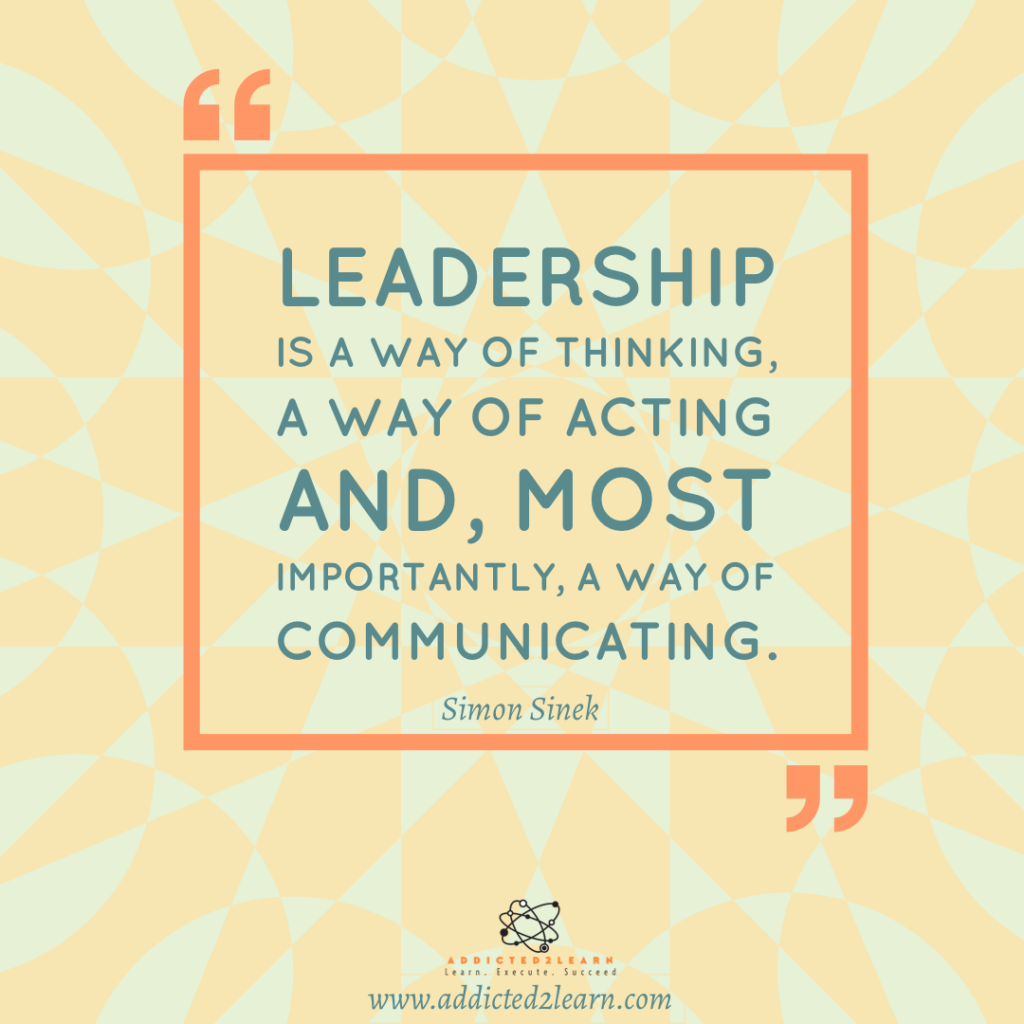 Quote of the day by Simon Sinek.