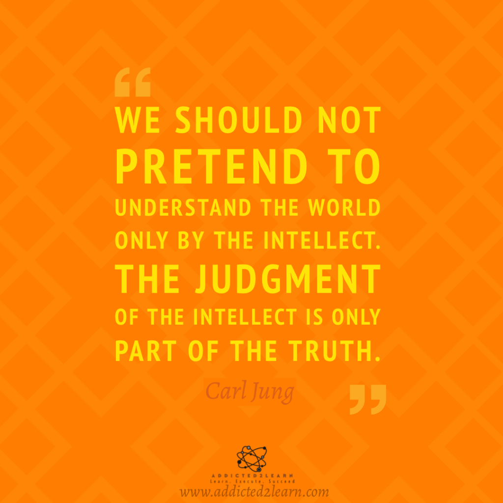 Quote of the day by Carl Jung.