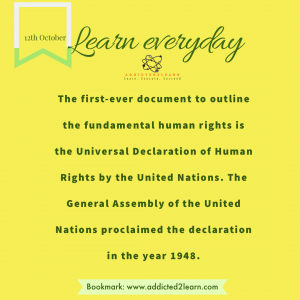 Interesting fact about the United Nations.