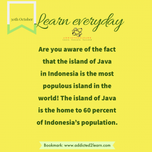 Interesting fact about Indonesia.