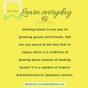Interesting fact about Japanese Culture.