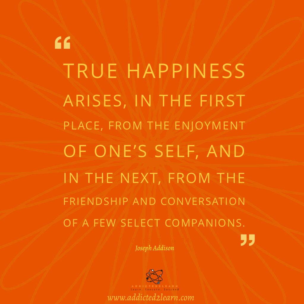 Quote of the day by Joseph Addison.