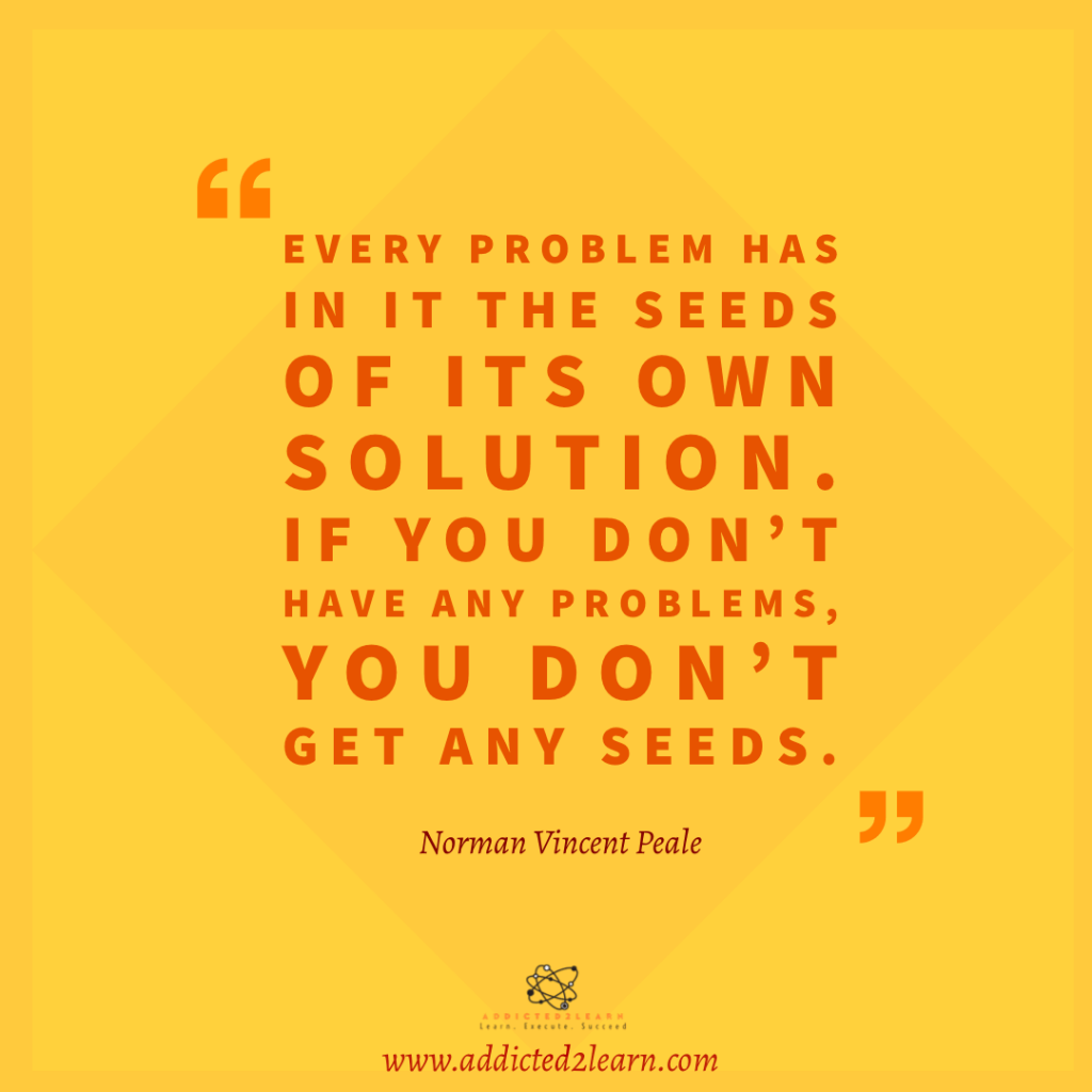 Quote of the day by Norman Vincent Peale.