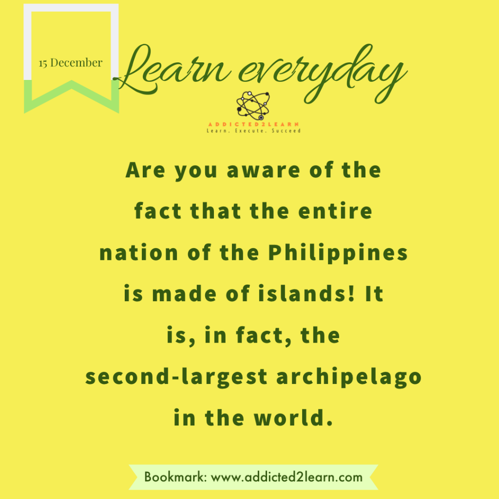 Interesting fact about the Philippines.