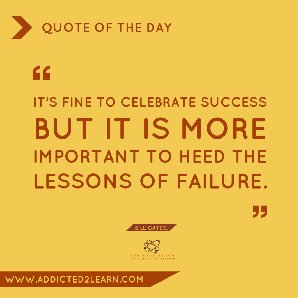 Quote of the day December Series: Quote by Bill Gates.