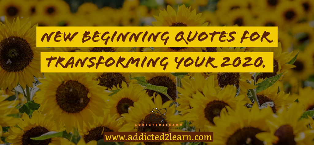 New Beginnings quotes: