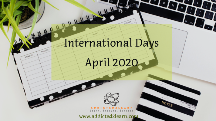 International Days April 2020
