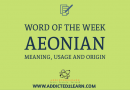 Aeonian in a sentence