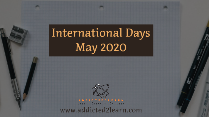 International Days May 2020