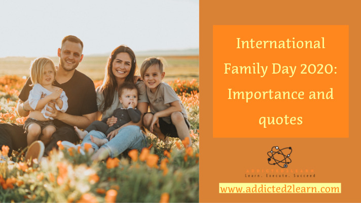 International Family Day - Addicted2learn.com