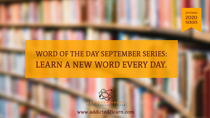 Word of the Day September Series